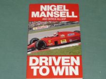 NIGEL MANSELL Driven To Win (1989 paperback)